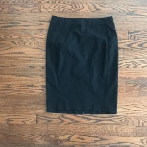 Zara Black Pencil Skirt